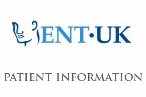 ENT UK Patient Information